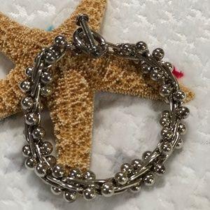 SILPADA .925 DNA Link Toggle Clasp Bracelet B0523
